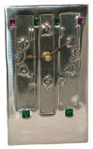 Archibald Knox No' 2 Pewter Clock